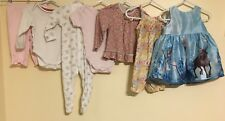 Baby Girls Bundle Of Clothing Age 3-6 Months Bee Bo Disney H&M M&S <D1091