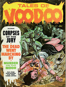 TALES of VOODOO, Vol #2, #4 - Sept.1969 (FINE) - Features Decapitation on Cover