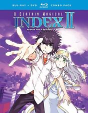 A Certain Magical Index II . Complete Season 2 . Anime . 4 DVD + 4 Blu-ray . NEU