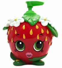 Red Shopkins Strawberry Lotion Pump Dispenser Cute Bottle Bath Bathroom Decor