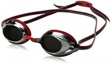 Speedo Vanquisher 2.0 Mirrored Swim Goggle, Red, One Size, New, Free Shipping