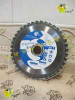 "110mm 4 3/8"" inch 40T THK tungsten circular saw blade MULTI CUTTER wood plastic"