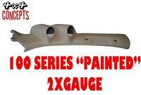 2 Gauge Pillar pod suit 100 Series Toyota Landcruiser Painted Factory Beige 52mm