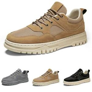 Mens Leisure Sneakers Shoes Trainer Gym Outdoor Walking Sports Breathable Chic D
