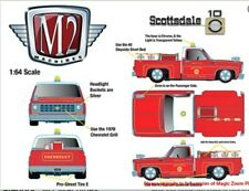 M2 Machines Hobby Exclusive 1976 Chevrolet Truck Custom Fire Chief Pre Order