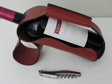 NEW Beretta Factory Seconds Leather Wine Rest & Sommelier Tool