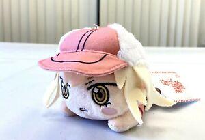 Cells at Work Anime Nesoberi Small Keychain Plush Doll Pink Eosinophil SG8628