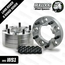 Land Rover Defender & Discovery 1 30mm Aluminium Wheel Spacers Set of 4 Bulldog