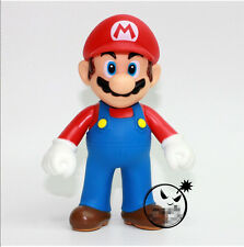 "New Super Mario Bros. - 5"" Mario Action figures Doll Free SHIPPING"