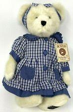 Boyds Leanne Bearsdale Teddy Bear Head Bean Collection Handmade Plush New 919821