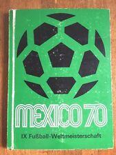 Album figurine MEXICO 70 COMPLETE sticker wc wm 1970 74 munchen cup 78 no panini