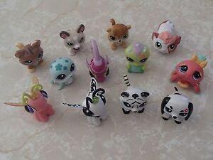 Littlest Pet Shop RARE Walkables HUGE LOT Blythe Tiger Dachshund Cat Husky LPS!
