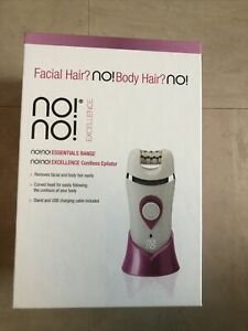 no!no! Cordless Rechargeable Waterproof Epilator - Pink