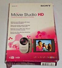 Sony Movie Studio HD Version 9  PC Windows XP Vista OPEN BOX