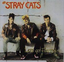 STRAY CATS - Let's Go Faster BLACK vinyl LP (New - Reissue) LTD ED.  ROCKABILLY