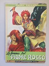 La gemma del fiume rosso di Emilio Salgari Ed. Carroccio 1948
