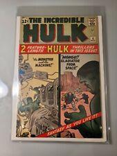 The Incredible Hulk #4, 1962, Origin retold, FN Kirby/Lee/Ayers