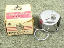 VINTAGE TALLY COUNTER #TC-1 PIC WITH BOX 4 NUMBERS DIGITS