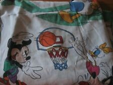 Mickey & the Gang Play Sports Twin fitted flat set  The Disney Co. Vintage