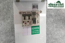 Campervan/Motorhome RCD & MCB Consumer Unit, White, 240v Electric Hook-up Unit