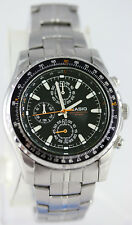 Casio MTP-4500D-1A Mens Stainless Steel Dress Watch 50M 1-Sec Chronometer New