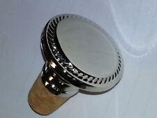 Silver Elegant Wine Bottle Stopper Engravable Gift New
