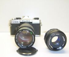Fujica ST605 35mm Film SLR Camera M42 Mount + Hanimar 80-200mm Lens f4.5