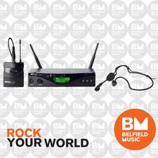 AKG Wms470 Sports Set Wireless Microphone System Headset Swear Resistant Mic