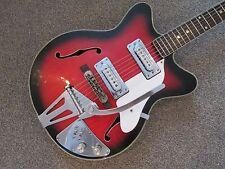 Columbus Semi Acoustic Guitar-Made in Japan-début des années soixante