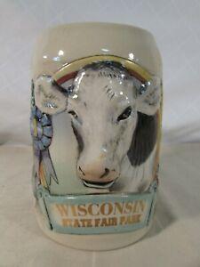 Wisconsin State Fair 100th Anniversary Collectors Stein