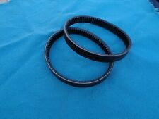 2 NEW DRIVE BELTS REPLACES SEARS CRAFTSMAN LATHE VARIABLE SPEED BELTS 18019.00
