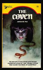James M. Fox, The Coven, Raven House 61, 1981 - PBO First Printing