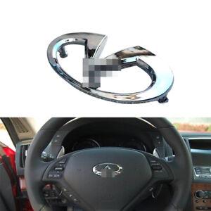 Steering Wheel Emblem for EX35 FX35 FX45 FX50 G35 G37 M35 M45 Q45 Q50 Q60 Q70