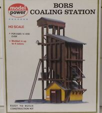 Model Power HO Scale 410 BORS Coaling Station Kit NEW