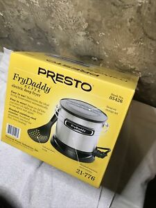New Presto FryDaddy Elite 05426 Deep Fryer Electric 4 Cups NIB Fry Daddy