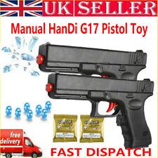 2X Manual HanDi-G17 Gel Balls Blaster Toy Gun Water Bombs Shot Game Outdoor UK