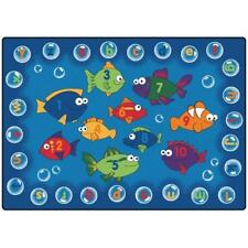 Carpets For Kids 6817 Fishing for Literacy 8 ft. x 12 ft. Rectangle Carpet