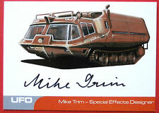 UFO - MIKE TRIM (MT1) - VERY LIMITED Autograph Card - SPECIAL EFFECTS DESIGNER