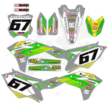 2017 2018 KXF 250 GRAPHICS KIT KAWASAKI KX250F DIRT BIKE MOTOCROSS DECALS
