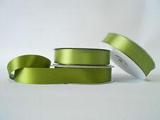 Nastro doppio raso 25 mm rotolo bobina da 50 mt Verde Scuro fai da te -art D2507