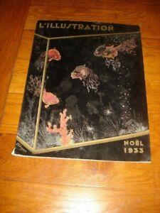 L'ILLUSTRATION No SPECIAL NOEL 1933 n°4735 du 2 décembre JAPON PUB LUSTUCRU