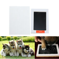 "3.74"" Handprint Footprint Ink Pads Pet Paw Print Ink Kits for Baby Pet 1Set"