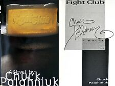 Chuck Palahniuk~SIGNED IN PERSON~Fight Club~1st Edition + Photos!