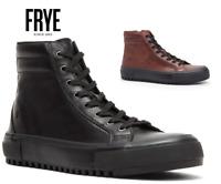 Mens Frye Varick High Top Leather Sneakers Black or Brown All Sizes NWB