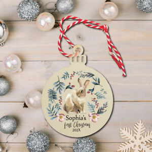 Christmas Tree Bauble,Personalised, Children's.My 1st Christmas Decoration 2021