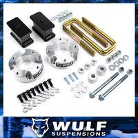 "WULF 3"" Front 3"" Rear Lift Kit w/ Diff Drop For 07-20 Toyota Tundra 4X4 4X4"