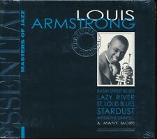 Essential Masters Of Jazz Louis Armstrong NEW digipak When The Saints GO Marchin