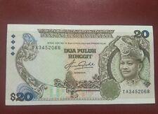 Malaysia 5th Series Rm20 (First Prefix)AU-UNC Rare