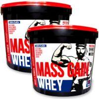 WHEY MASS GAIN 6 kg Gainer Protein WPC Aminosäuren Glutamin BCAA Top Masseaufbau