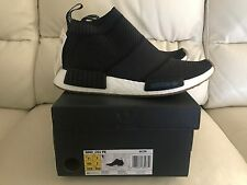 ADIDAS NMD CS1 CITY SOCK PK PRIMEKNIT BLACK GUM SIZE UK 7